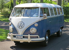 1967 VW 13 Window Bus by ClassicGray.com