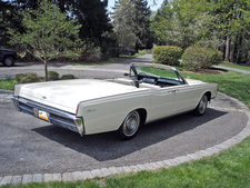 1966 Lincoln Continental Convertible by ClassicGray.com