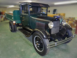 1931 Ford Model AA Dump Truck by ClassicGray.com