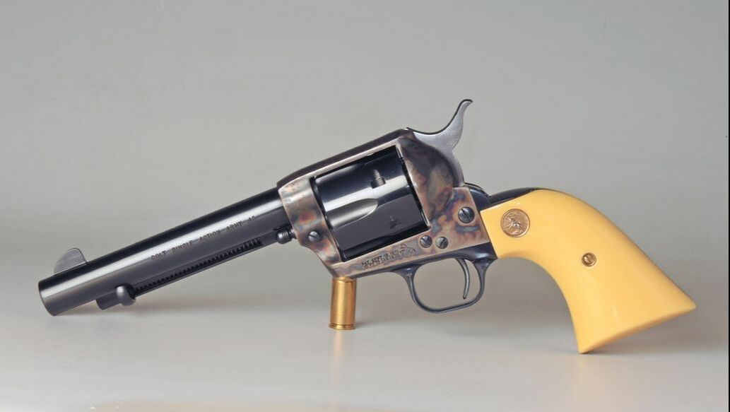 Colt SAA .45 2nd. Gen by ClassicGray.com